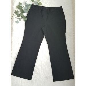 ANN TAYLOR Signature Wide Leg Career Pants 12
